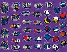 fb5a0e121fc47ac tarafından My Levski, My Vibe- Sticker Pack için no 14