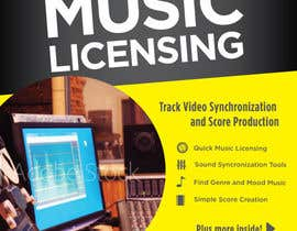 #29 for Create a Front Book Cover Image about Music Licensing by andrewjamesmoore