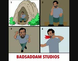 #9 for 10 second tv commercial for badsaddam studios by Nanatabi