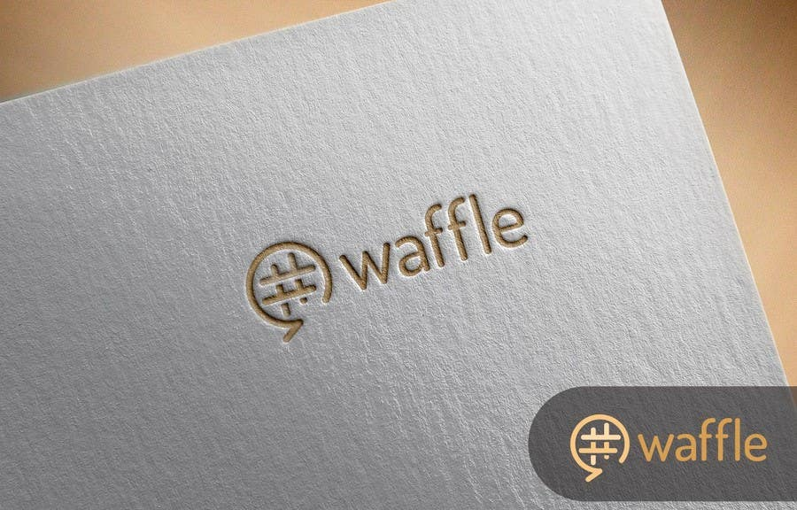 Contest Entry #                                        924                                      for                                         Waffle App Logo
