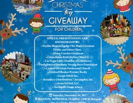 vaishaknair tarafından DESIGN FLYER FOR CHILDRENS CHRISTMAS TOY GIVEAWAY için no 35