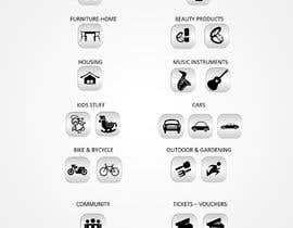#5 untuk Design Icons for app categories oleh vaishaknair