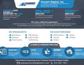 #114 for Design a one page sales brochure for Summit Digital by abgsabirin90