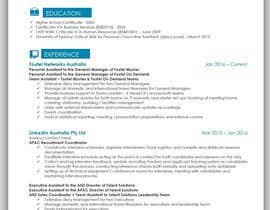 #27 για Create an updated, modernised version of my current RESUME / CV από mhandalia
