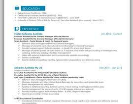 #29 για Create an updated, modernised version of my current RESUME / CV από mhandalia
