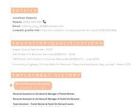#6 για Create an updated, modernised version of my current RESUME / CV από Mostafa3Mahmoud