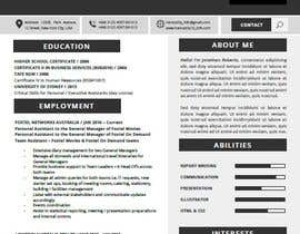 #1 για Create an updated, modernised version of my current RESUME / CV από joosuedi