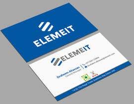 monowerhridoy tarafından Elemeit business card & letterhead için no 32