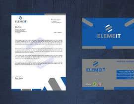 syhamsmt tarafından Elemeit business card & letterhead için no 154