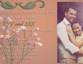 morensy tarafından Design an Email Wedding invitation için no 11