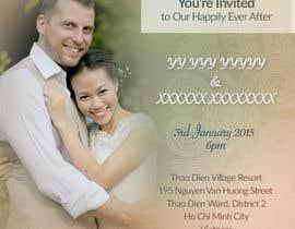 tonguc tarafından Design an Email Wedding invitation için no 42