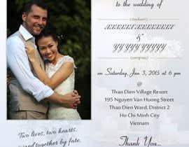 nishantkumar9 tarafından Design an Email Wedding invitation için no 10