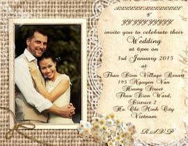 Agreat1 tarafından Design an Email Wedding invitation için no 13