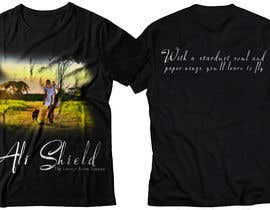 #41 for Design a band shirt for Ali Shield by shamemarema24