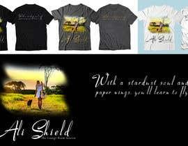 #42 for Design a band shirt for Ali Shield by shamemarema24