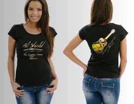 #32 for Design a band shirt for Ali Shield by danijelaradic