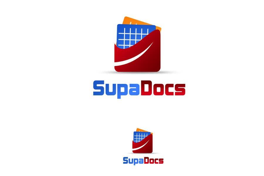 Kilpailutyö #310 kilpailussa Logo Design for Supa Docs