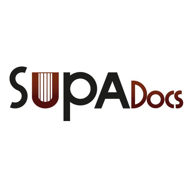 Inscrição nº 248 do Concurso para Logo Design for Supa Docs