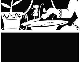 #3 for Fairy tale illustration (black+white, contour style) by wahidxaman