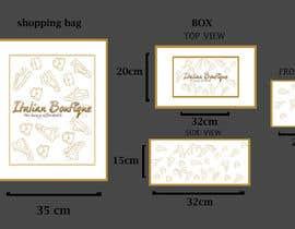 Nro 2 kilpailuun Design for shopping bag and box käyttäjältä tahsinnihan