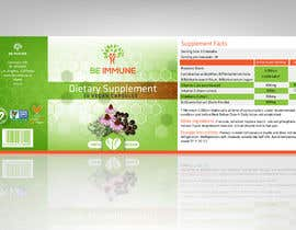 #11 cho Supplement Product Label Design - Be Immune bởi ARTworker00