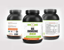 #13 cho Supplement Product Label Design - Be Immune bởi joydutt