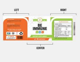 #14 cho Supplement Product Label Design - Be Immune bởi joydutt