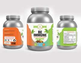 #15 cho Supplement Product Label Design - Be Immune bởi joydutt