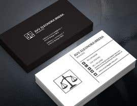 #201 for Design Business Cards for Lawyer by pranadibroy