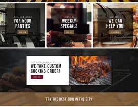 #41 for Design a Website Mockup for BBQ Restaurant by wabdesigner