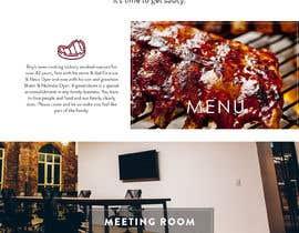 #31 for Design a Website Mockup for BBQ Restaurant by Orko30