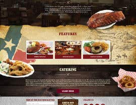 #40 for Design a Website Mockup for BBQ Restaurant by Oskars89