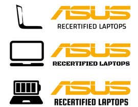 "#3 for Create Logo that says ""Asus Recertified Laptops"" by ZozGalal"