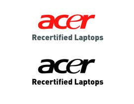"""#1 for Create a logo that says """"Acer Recertified Laptops"""" by Guardvic"""