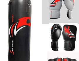 #25 cho Color design draft - boxing gloves and punching bag bởi salinna25