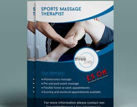#108 cho Sports massage flyer bởi yeadul