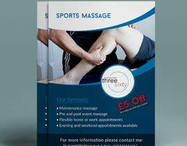 #109 for Sports massage flyer by yeadul