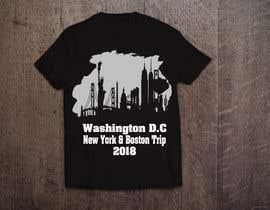 saikatmian tarafından Design a t-shirt for Washington DC, New York & Boston Trip için no 50