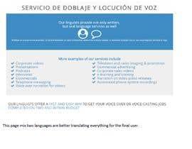 nº 10 pour Analyze our new website (language service) and propose key improvements par leonardomanrique