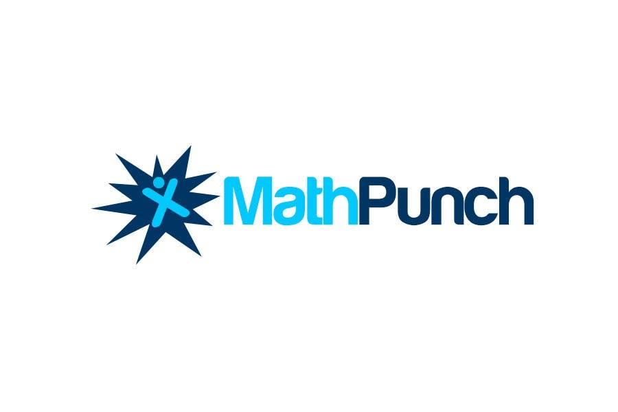 Конкурсная заявка №62 для Logo Design for Math Punch - Putting the Punch in Math