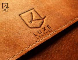 """#5 para Design a Shield logo for brand """"Luxe Leather"""" de fezibaba"""
