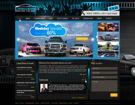 nº 29 pour Website Design for Limousine Service Inc. par iNoesis