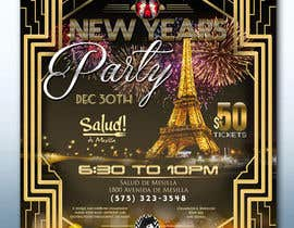 #29 for Need a flyer for a Dec 30th new year themed party by dreamworld092016