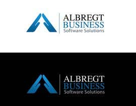 #244 untuk Logo Design for Albregt Business Software Solutions oleh pinky
