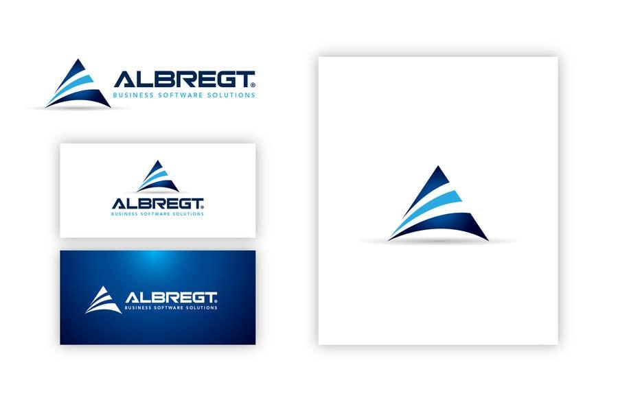 Kilpailutyö #                                        395                                      kilpailussa                                         Logo Design for Albregt Business Software Solutions