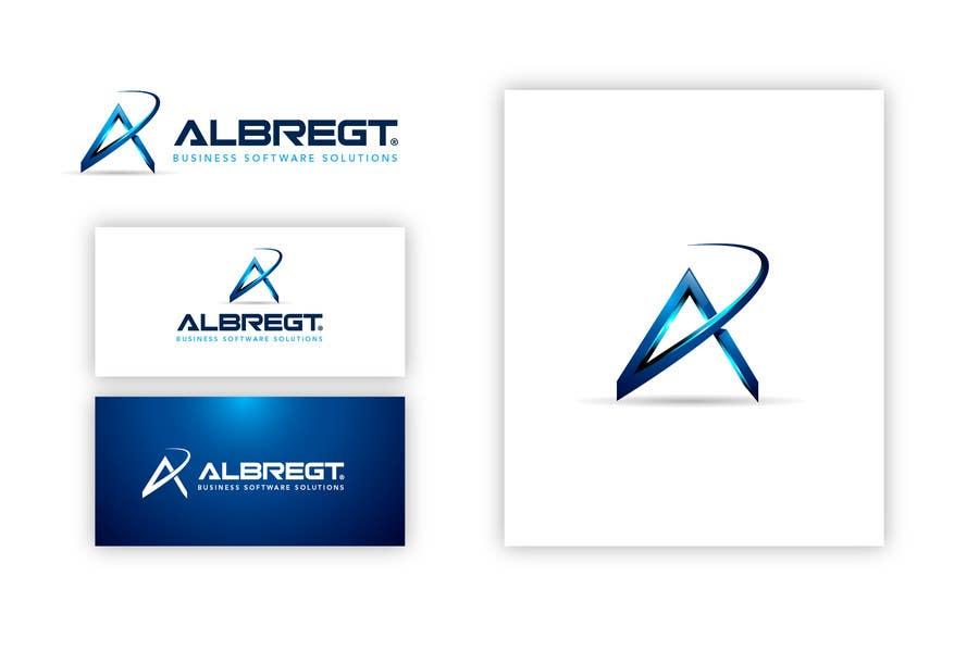 Kilpailutyö #                                        393                                      kilpailussa                                         Logo Design for Albregt Business Software Solutions