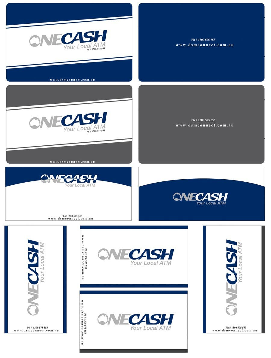 Proposition n°                                        46                                      du concours                                         Stationery Design for ONECASH LIMITED