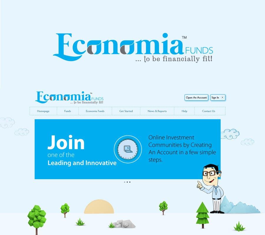 Kilpailutyö #83 kilpailussa Logo Design for financial website