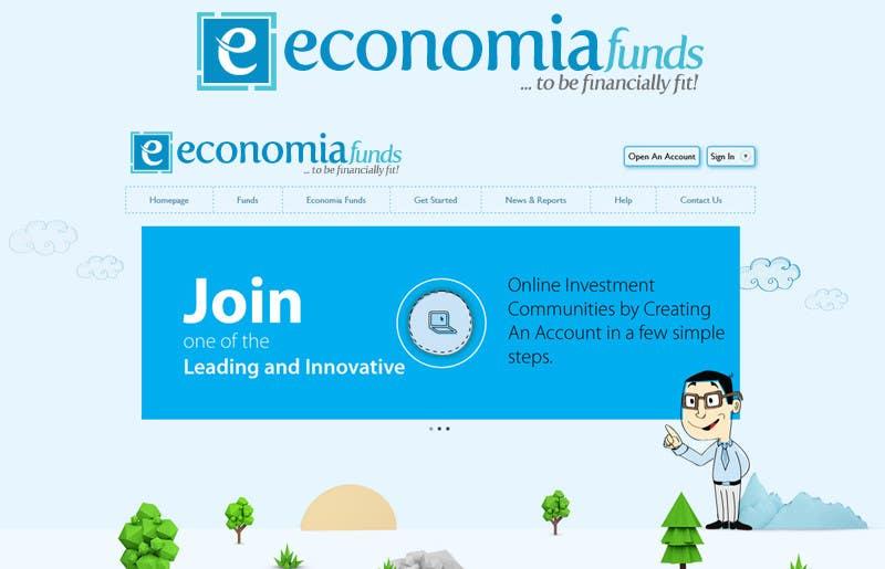 Kilpailutyö #342 kilpailussa Logo Design for financial website