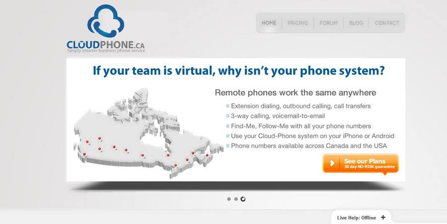 Конкурсная заявка №610 для Logo Design for Cloud-Phone Inc.